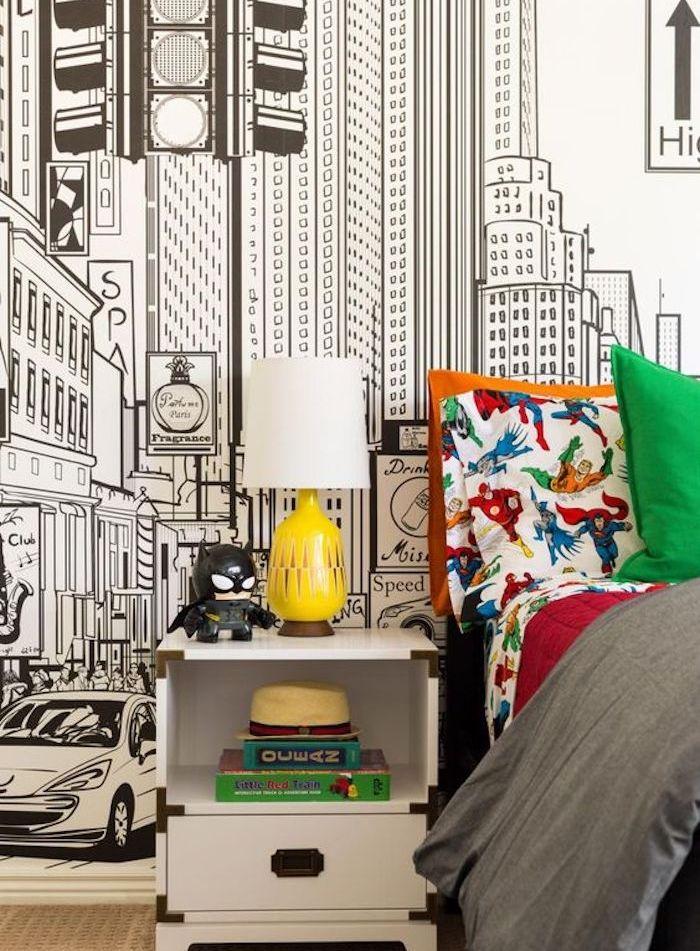 Idee Deco Papier Peint Chambre Adulte | Idées décoration - Idées Chambre Taerie on