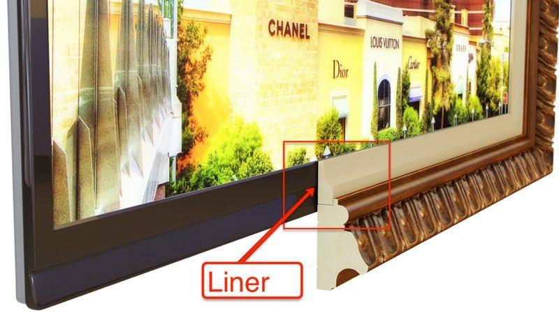 What is TV Frame Liner? | Frame MY TV | NEW HOME IDEAS | Pinterest ...