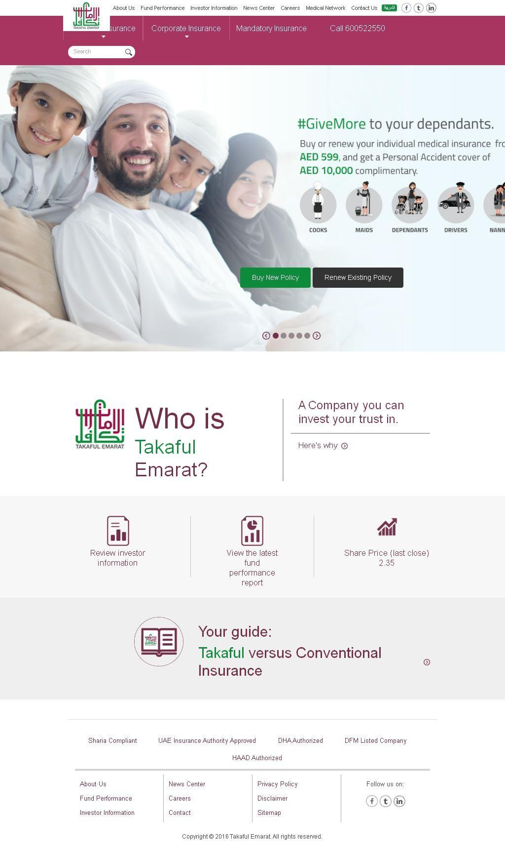 Takaful Emarat Insurance Company Al Buhaira Building 309