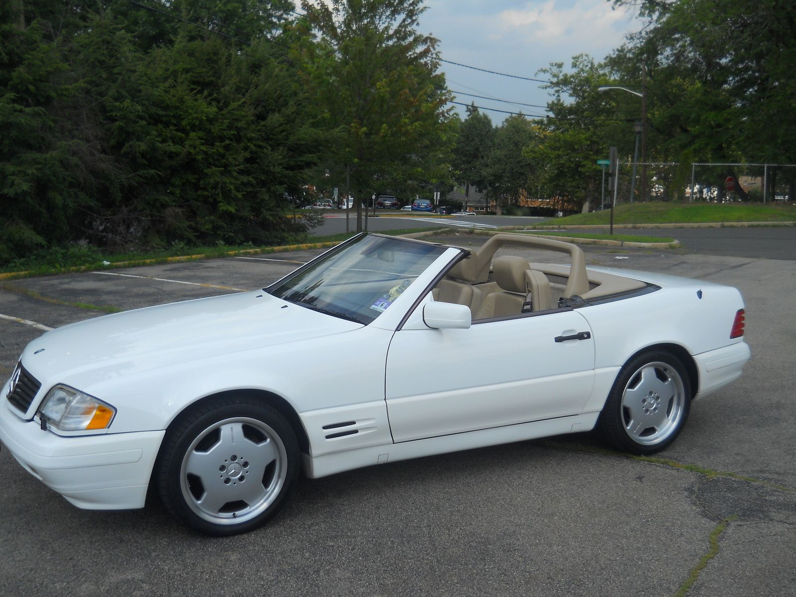 1997 Mercedes Benz Sl Class 2 Dr Sl500 Convertible With Images