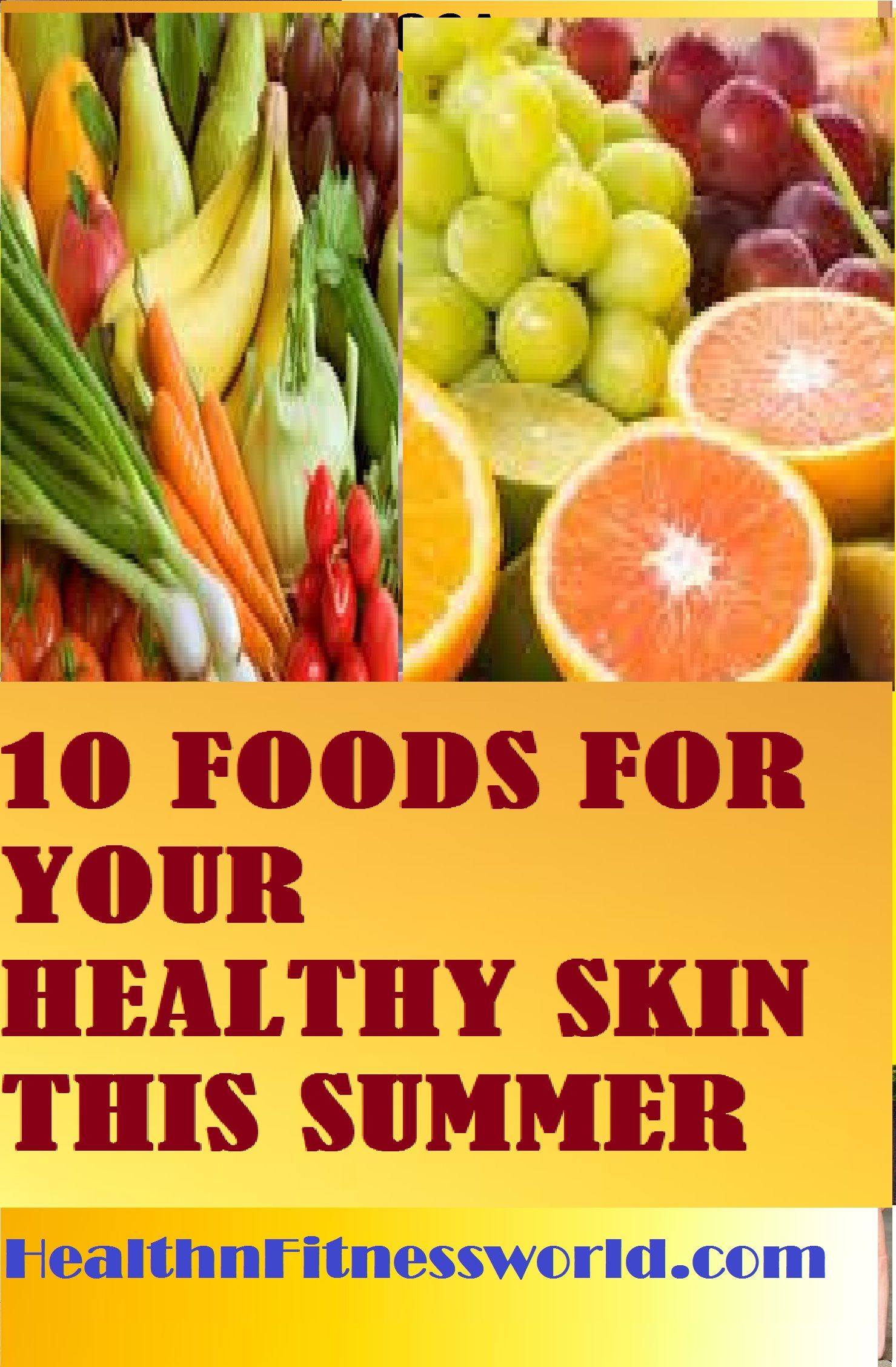 How To Maintain Healthy Skin This Summer. The List Of