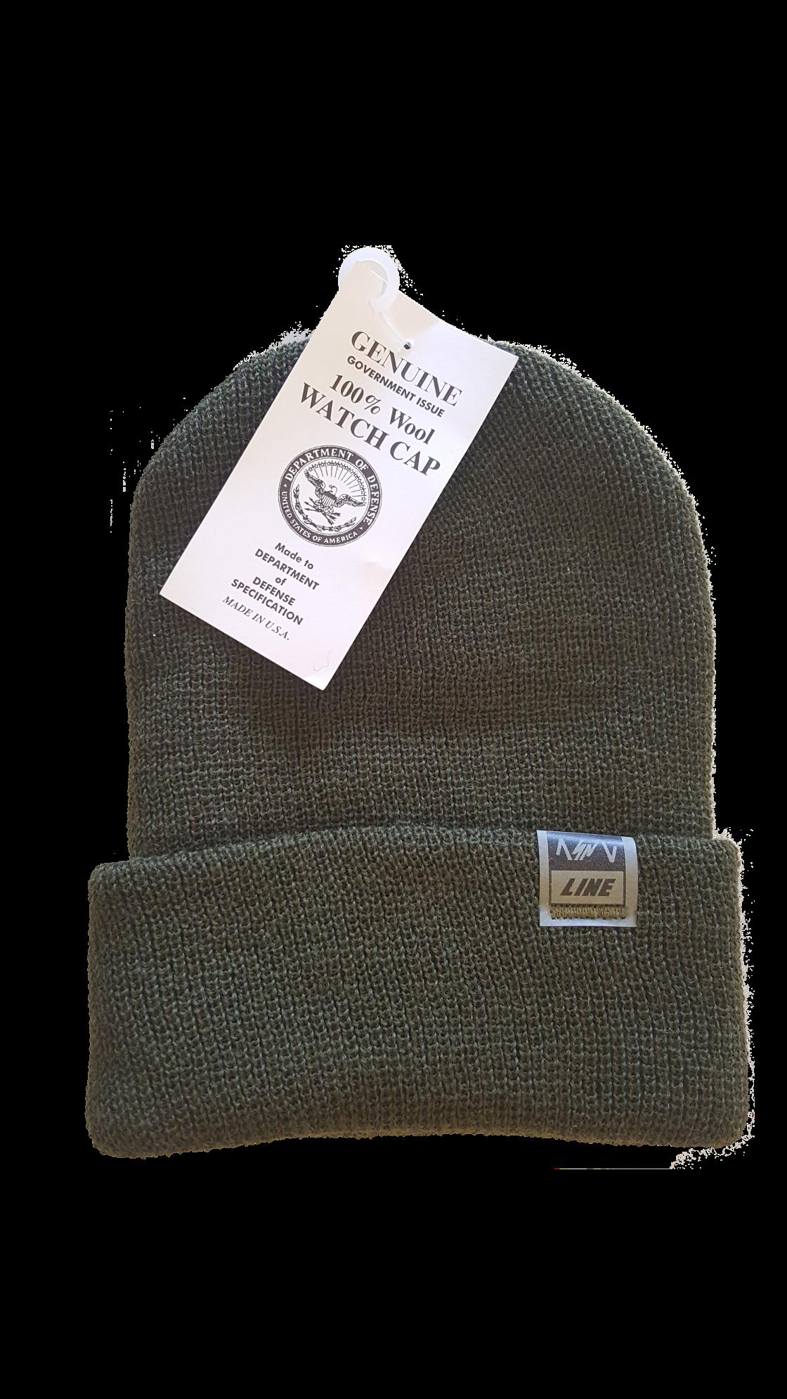60659d84 ASNL LINE Genuine G.I. Wool Watch Cap – All Skill No Luck ...
