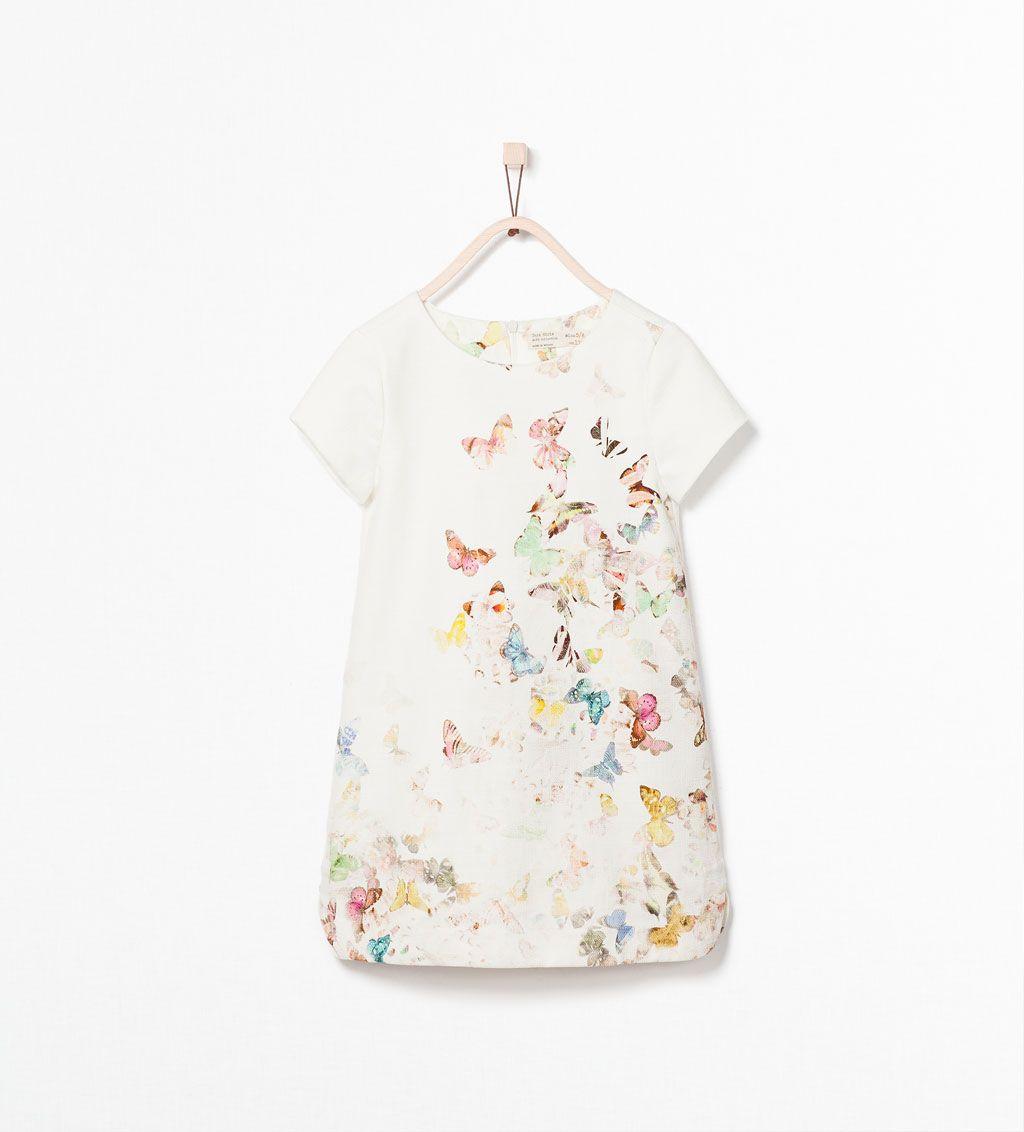 Witte glitter jurk zara