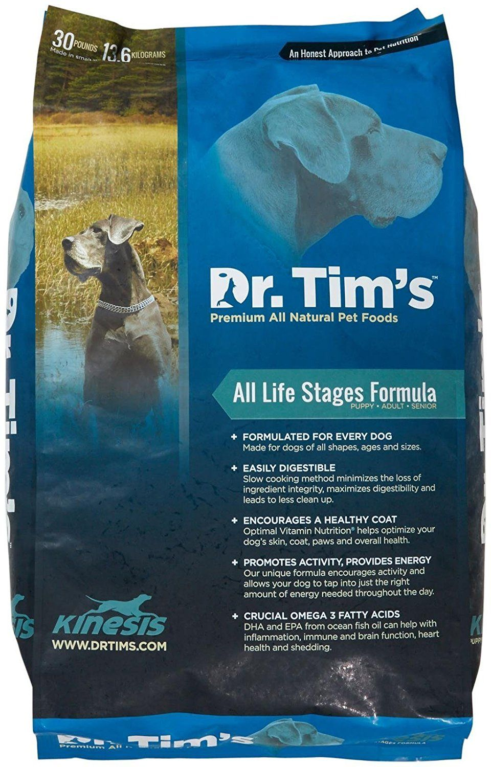 Dr Tim S All Natutal Pet Food Formula Kinesis For All Life Stages See This Great Product This Is An Affilia Food Animals Dog Food Recipes Natural Pet Food