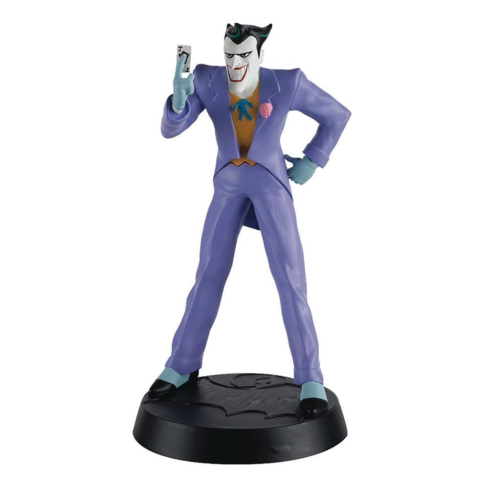 Eaglemoss Batman la Serie de Dibujos Animados DC Super Hero Collection # 5 El Joker polirresina Rare