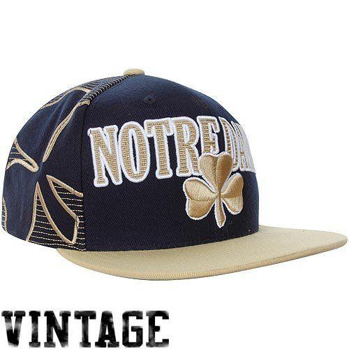 f1eb0665727 Notre Dame Fighting Irish Mitchell   Ness NCAA Laser Stitch Snapback Hat by  Mitchell   Ness