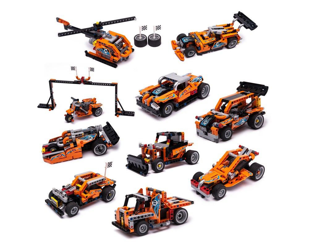 42104 Pull Power Package In 2020 Lego Technic Sets Lego Cars