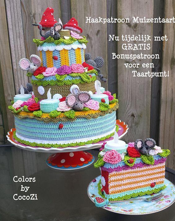 Nederlands Haakpatroon Muizentaart Haken Pinterest Crochet