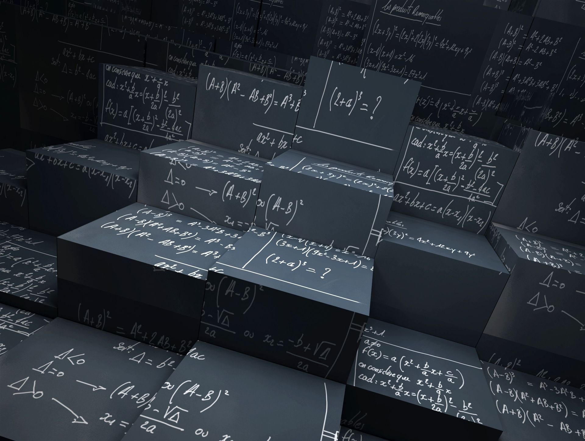 Mathematics Science Geometry Cubism Equation Cubist Architecture Statistics