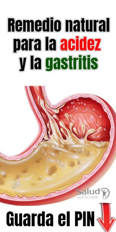 te para el gastritis