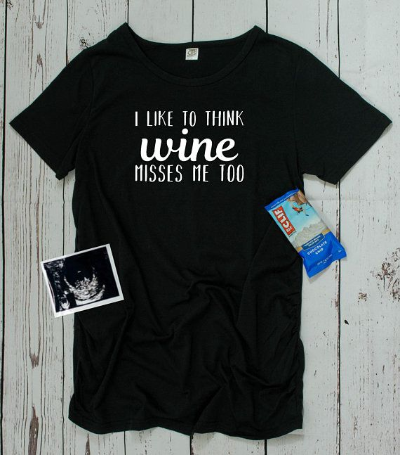 1eb7d6d4208a8 White Shirts · Giving up wine while pregnant is no easy task! But it's OK  because wine misses
