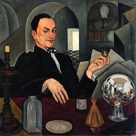 Roberto Montenegro (Mexican, 1887-1968) - Retrato de Chucho Reyes y Autor Retrato