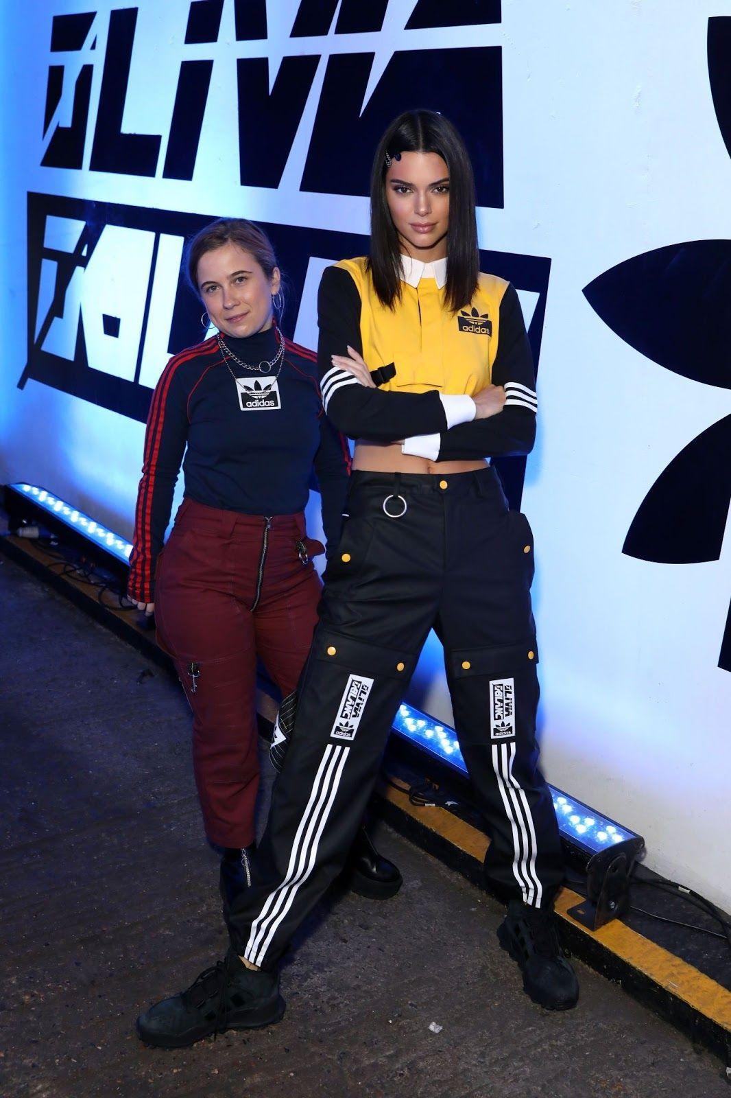 buy online 97437 8c4af Kendall Jenner - Adidas Originals presention by Olivia Oblanc in London  11 15 18 – Celeb Central