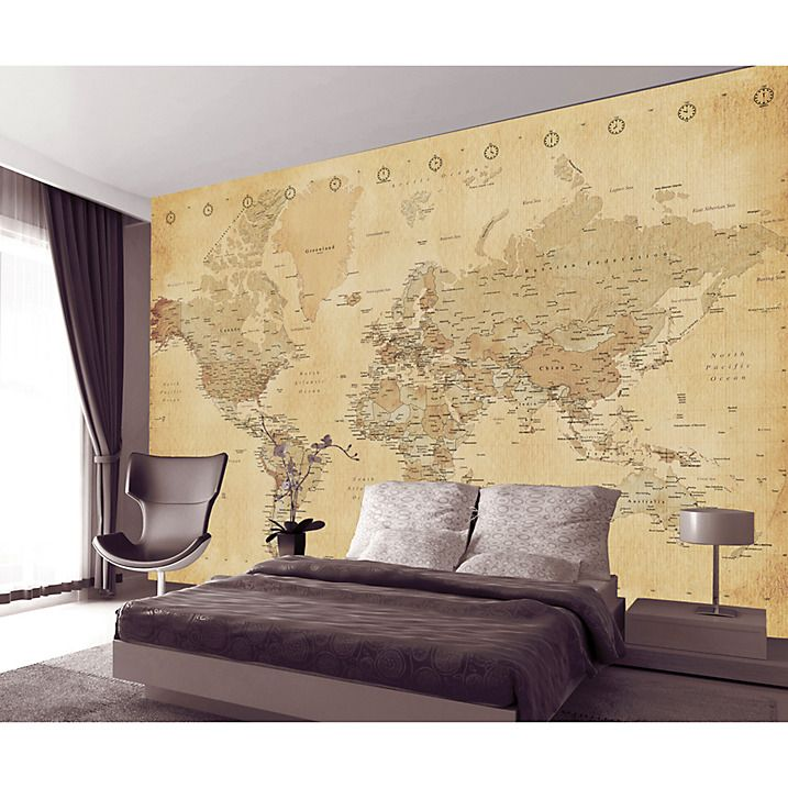 Buy 1wall vintage map wall mural online at johnlewis ides buy 1wall vintage map wall mural online at johnlewis world map wallpaperwallpaper gumiabroncs Image collections
