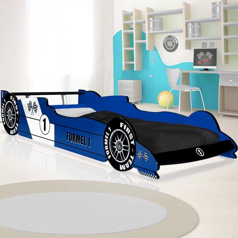 Kinderbett im Rennwagen Design | Tolles Autobett F1 Formel 1 für das ...