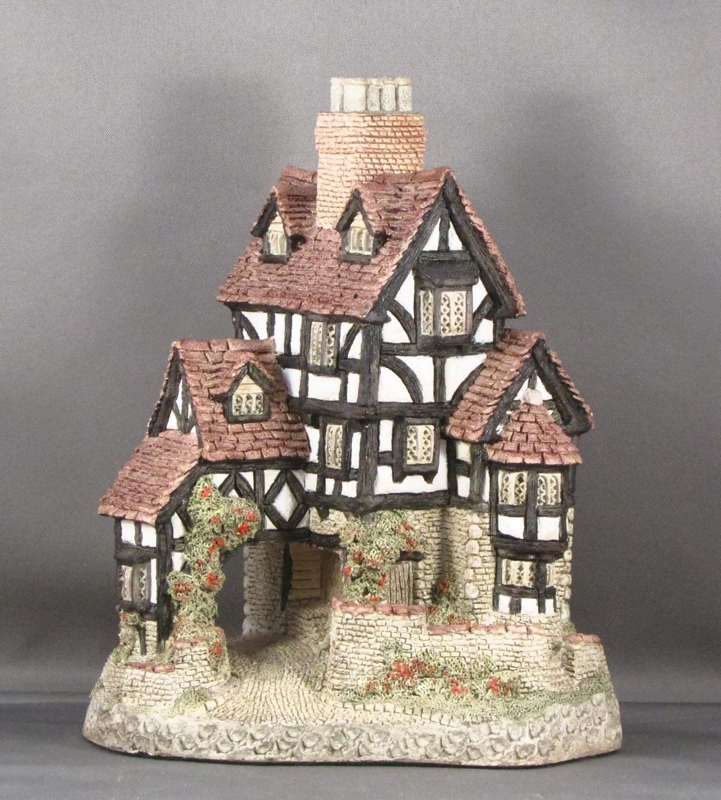 David Winter Cottages Squires Hall 1985 Cottage Miniature Houses Winter