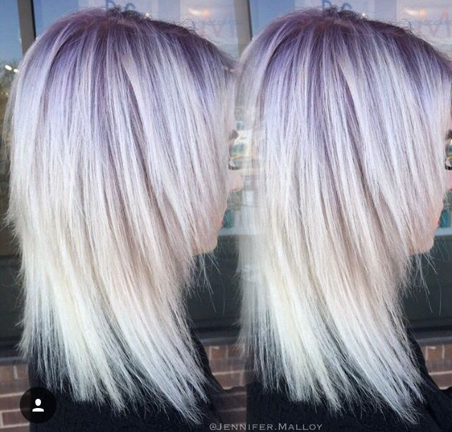 Purple Roots Blonde Hair | Find your Perfect Hair Style