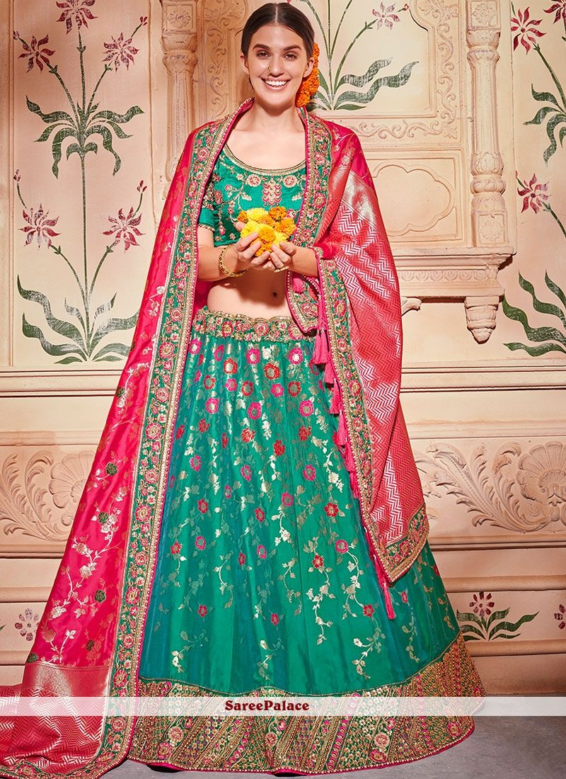 e247708316 Designer lehenga choli and trendy lehenga choli available in a variety of  latest designs. Shop this glitzy embroidered, patch border, resham and zari  work ...