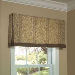 Window Treatments Ideas Box Pleat Valance Simple Window