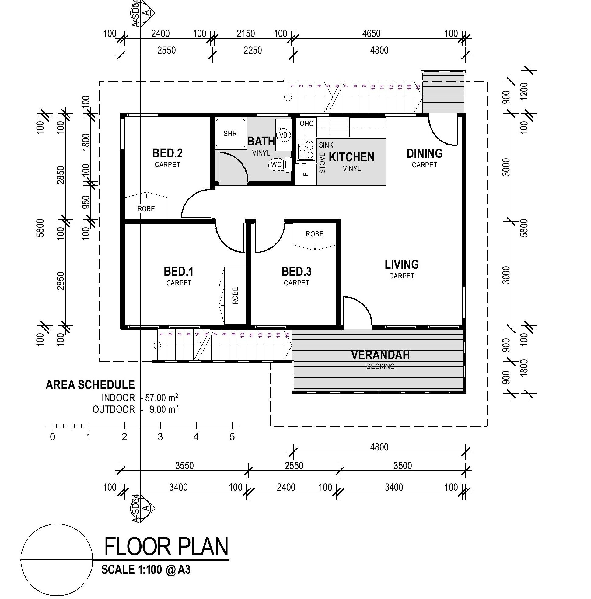 Smallest 3 Bedroom House Plan Floor Plans Home Designer: Affordable Small House Plans