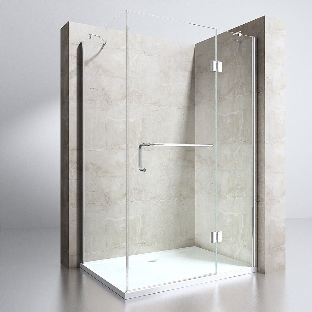 350 Shower Enclosure Cubicle Cabin Hinged Glass Door Left Or Right