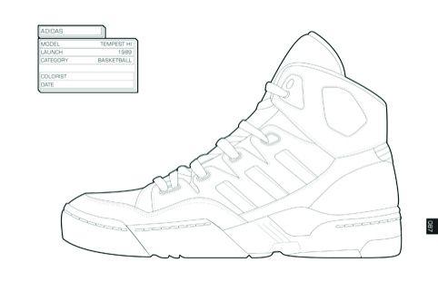 Shoe Outline Template Pdf Air Jordans