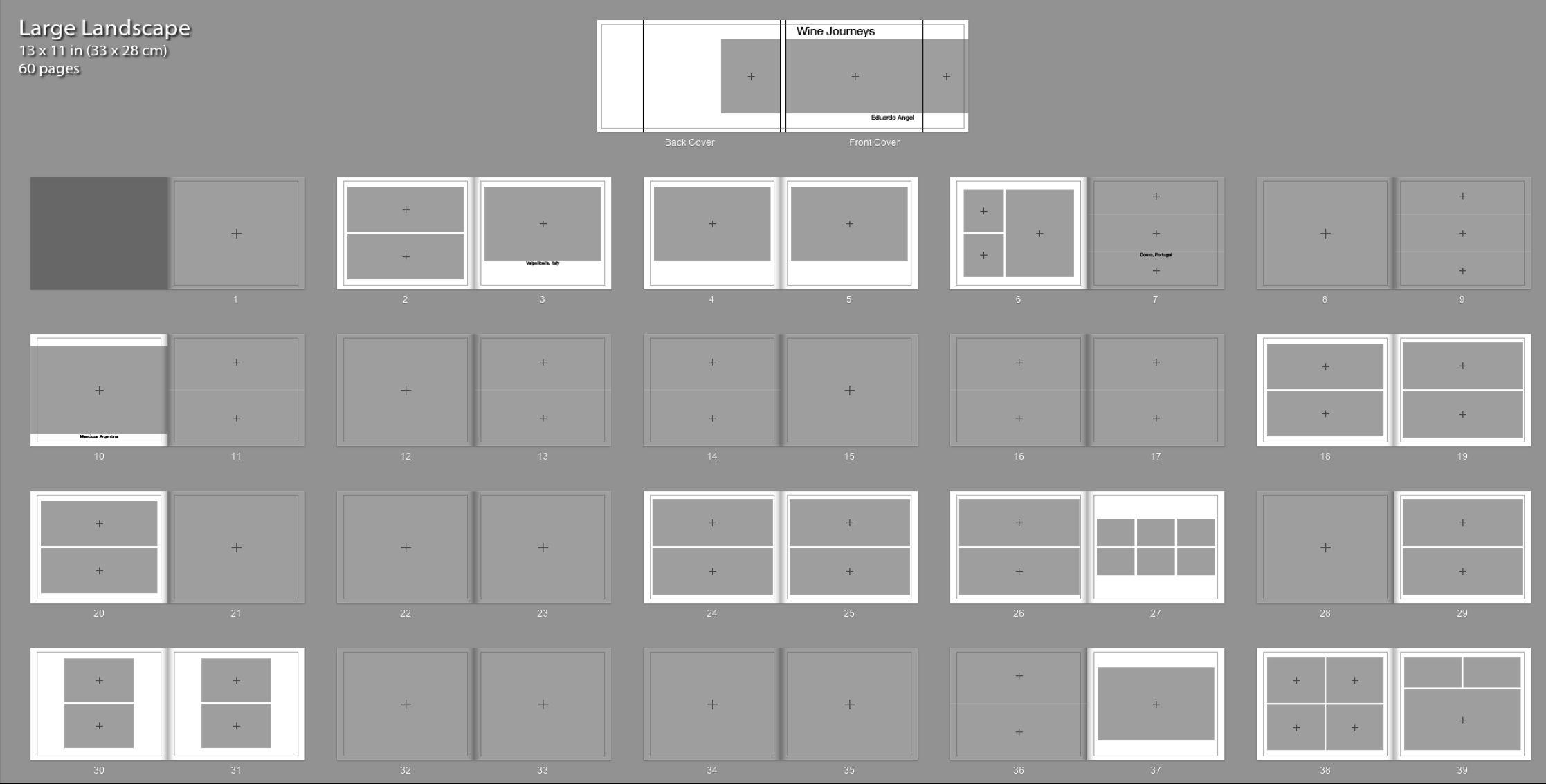Grid Design For Book Pages Landscape Page Layout Design Grid Design Layout Design