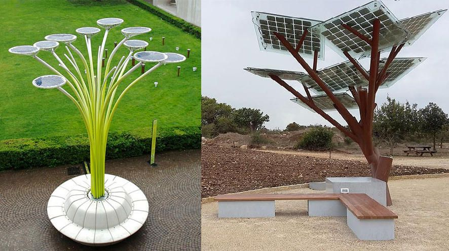 Innovative Urban Park Benches Outdoor Seating