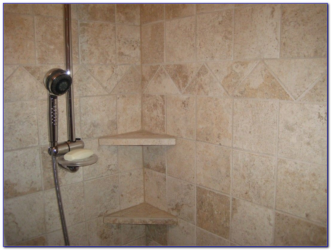 Amazing Corner Shower Shelf Tile Staircase Kitchen Home Services