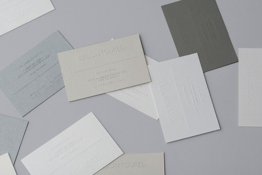 New Brand Identity for Decontoured by Bunch — BP&O | Business cards ...