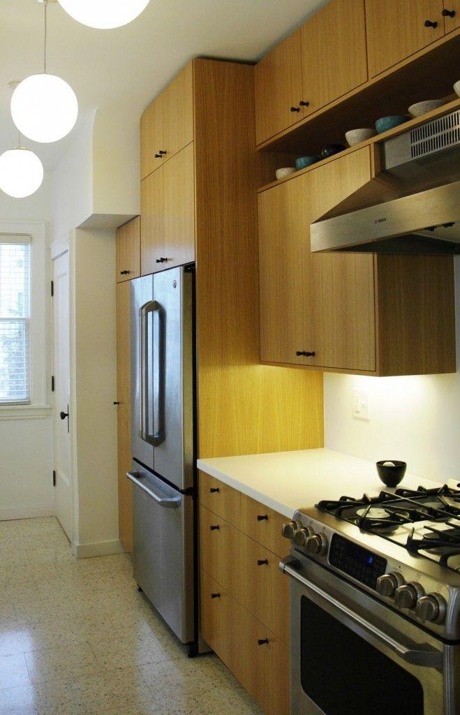 IKEA galley kitchen remodel. From Swainhart-tresch.com ...