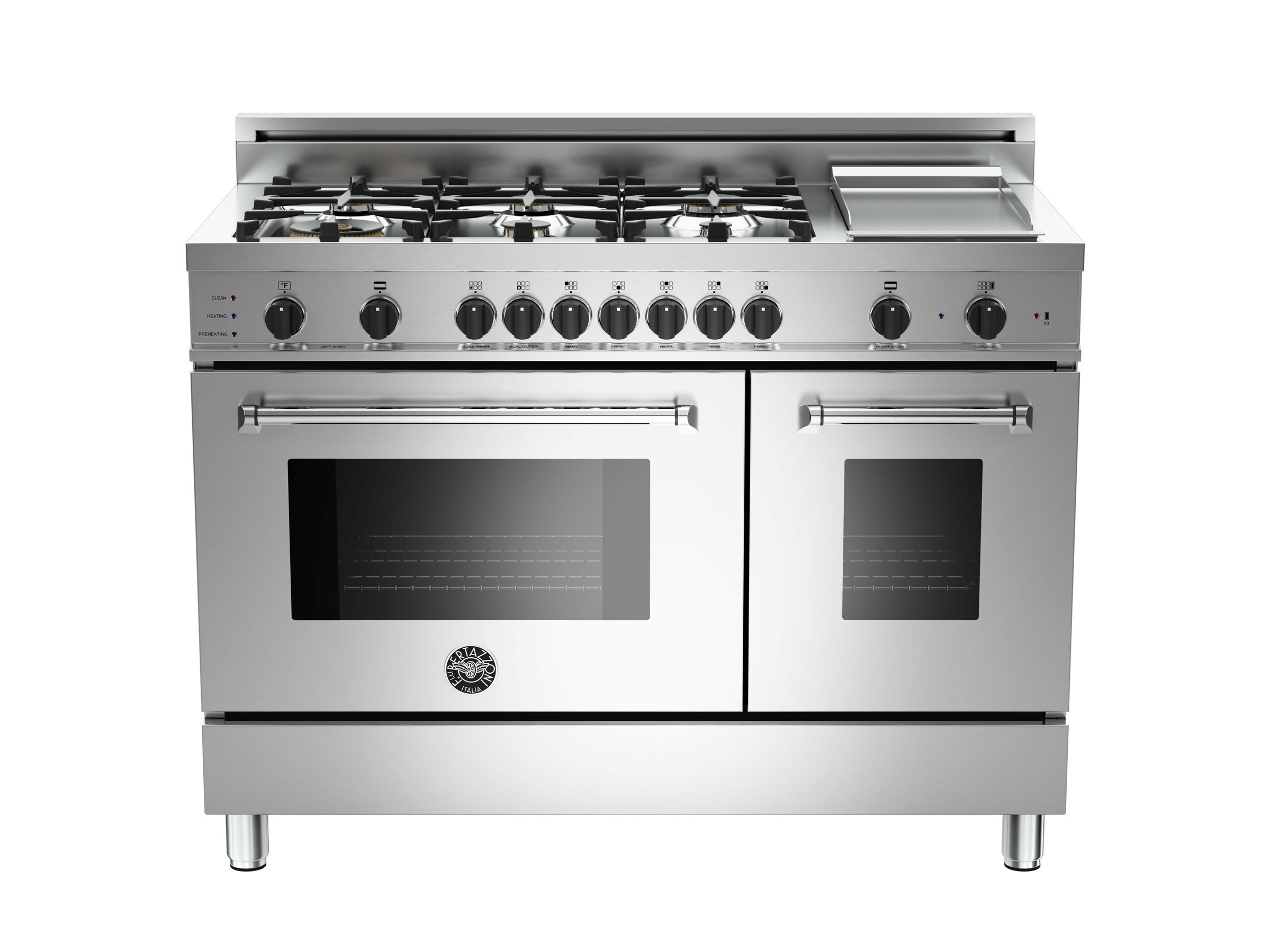 48 6-Burner+Griddle, Electric Self-Clean Double oven   Kitchen ...