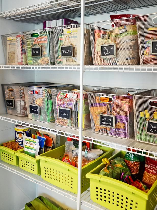 The experts at DIY Network show you how to organize all the small stuff in your kitchen with a few simple tips and tricks.