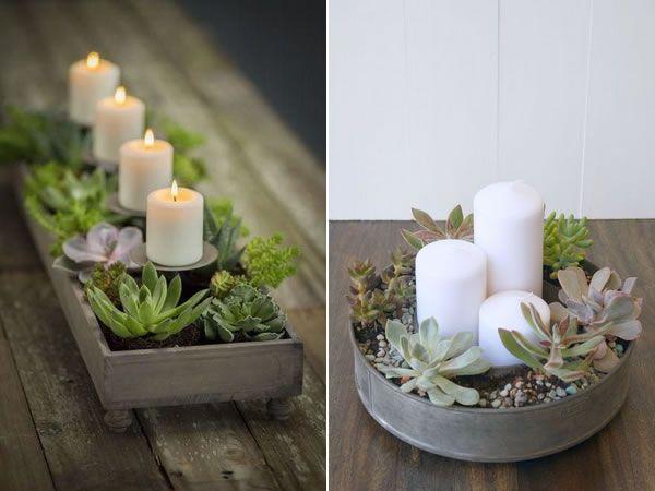 Decorar con velas. Ideas fáciles y económicas para decorar ...