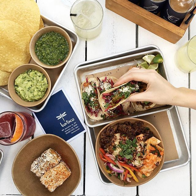 Bartaco is a stylish Mexican spot serving a variety of