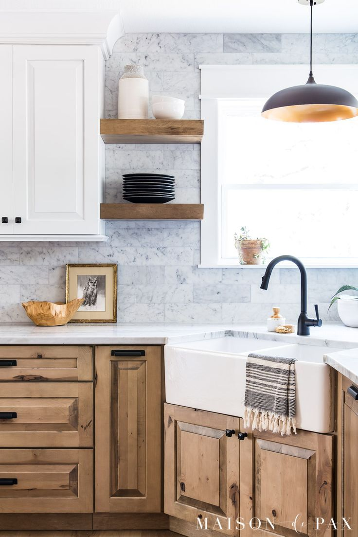 White and Wood Kitchen Reveal: Part 1, Cabinets