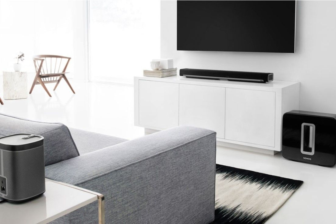 Sonos Subwoofer Deep Bottomless Sound Fills An Entire Room With Thick Layers Of Deep Bottomless Sound That Lets You Hear An Sonos Playbar Sonos Room Sonos Living room speaker placement