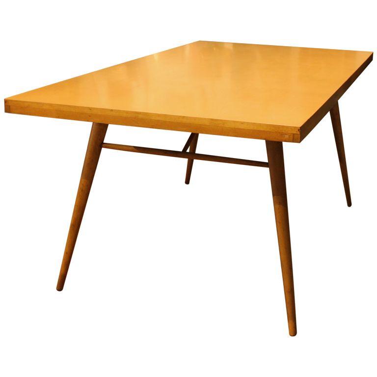 Paul Mccobb Maple Dining Table 1stdibs Com Maple Dining Table Modern Dining Room Tables Dining Table