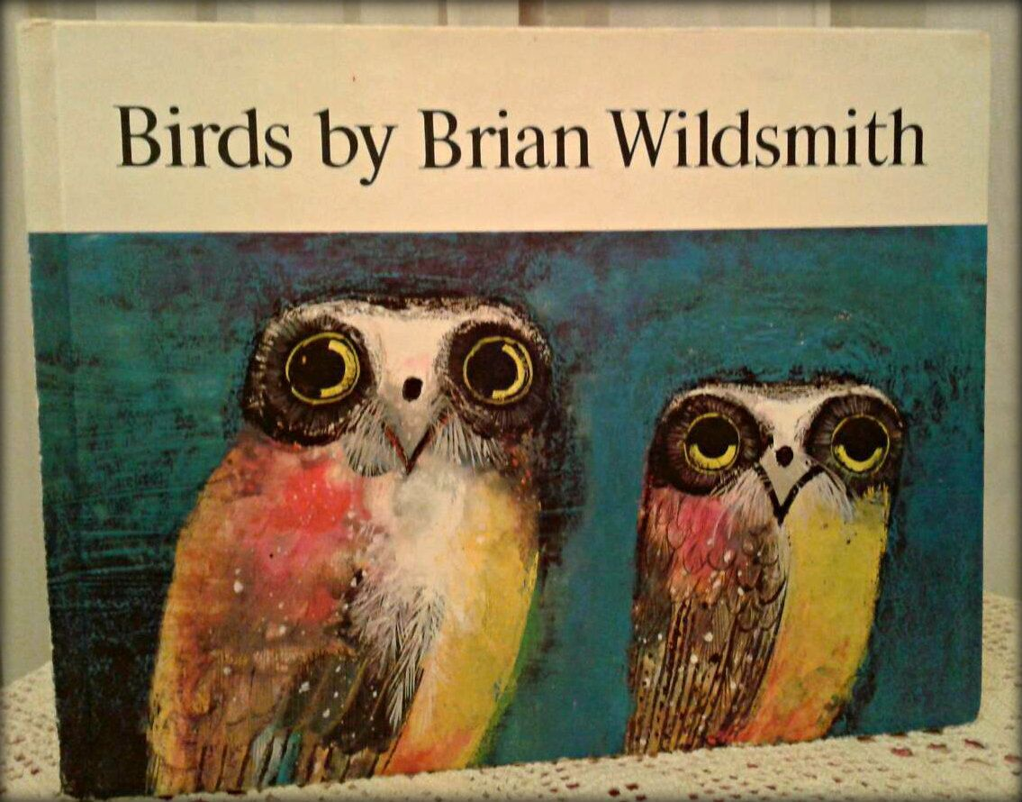1960's Childrens book, Birds by Brian Wildsmith. £15.00, via Etsy - Home of Vintage