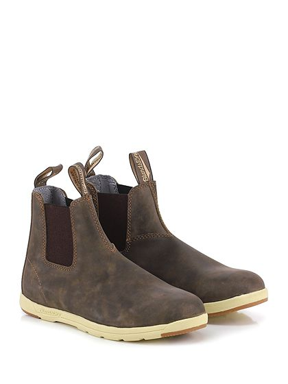 840a17665c3 Blundstone white sole chelsea man boot brown nubuck | Clothes ...