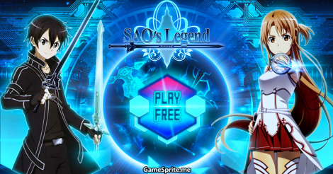 SAO's Legend Free online games, Free anime, Games to play