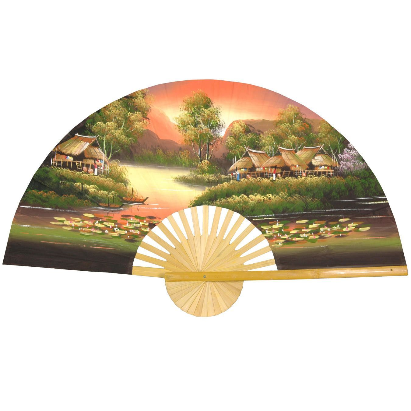 Luxury Chinese Fan Wall Decor Photo - Wall Art Collections ...
