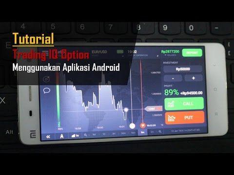Cara Bermain IQ Option Menggunakan Mobile Android dan IOS