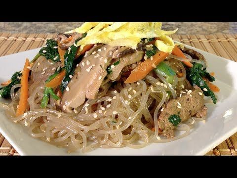 Cooking japchae glass noodles vegetables beef korean food recipes cooking japchae glass noodles vegetables beef korean food recipes youtube forumfinder Gallery