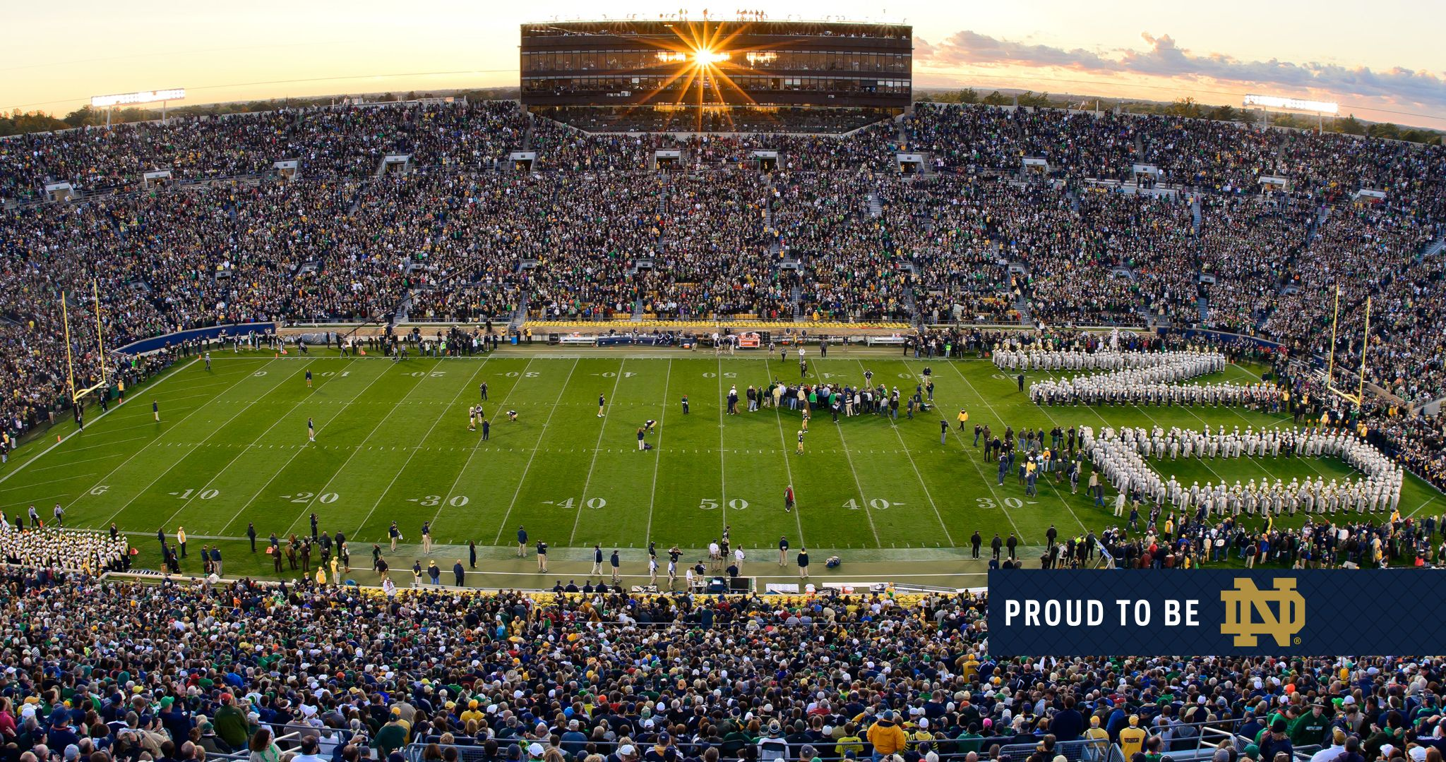Notre Dame Stadium Kendrascott Teamks Sports Wallpapers Notre Dame University Notre Dame