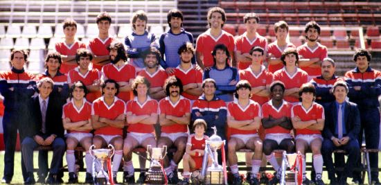 Image result for Argentinos Juniors en Brasil 1985