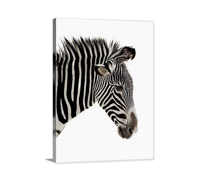 A personal favorite from my Etsy shop https://www.etsy.com/listing/265732237/zebra-canvas-large-canvas-print-black