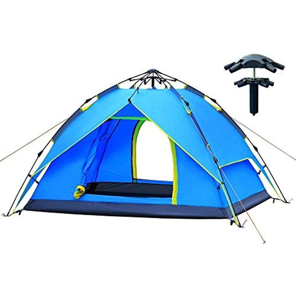 AUGYMER Waterproof 3 Person Camping Tents, Portable Camping
