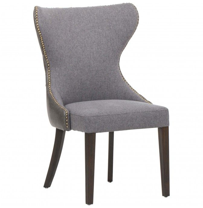 """25 Elegant And Exquisite Gray Dining Room Ideas: Ariana Dining Chair, Grey 25""""w 24""""d 37.5""""h"""