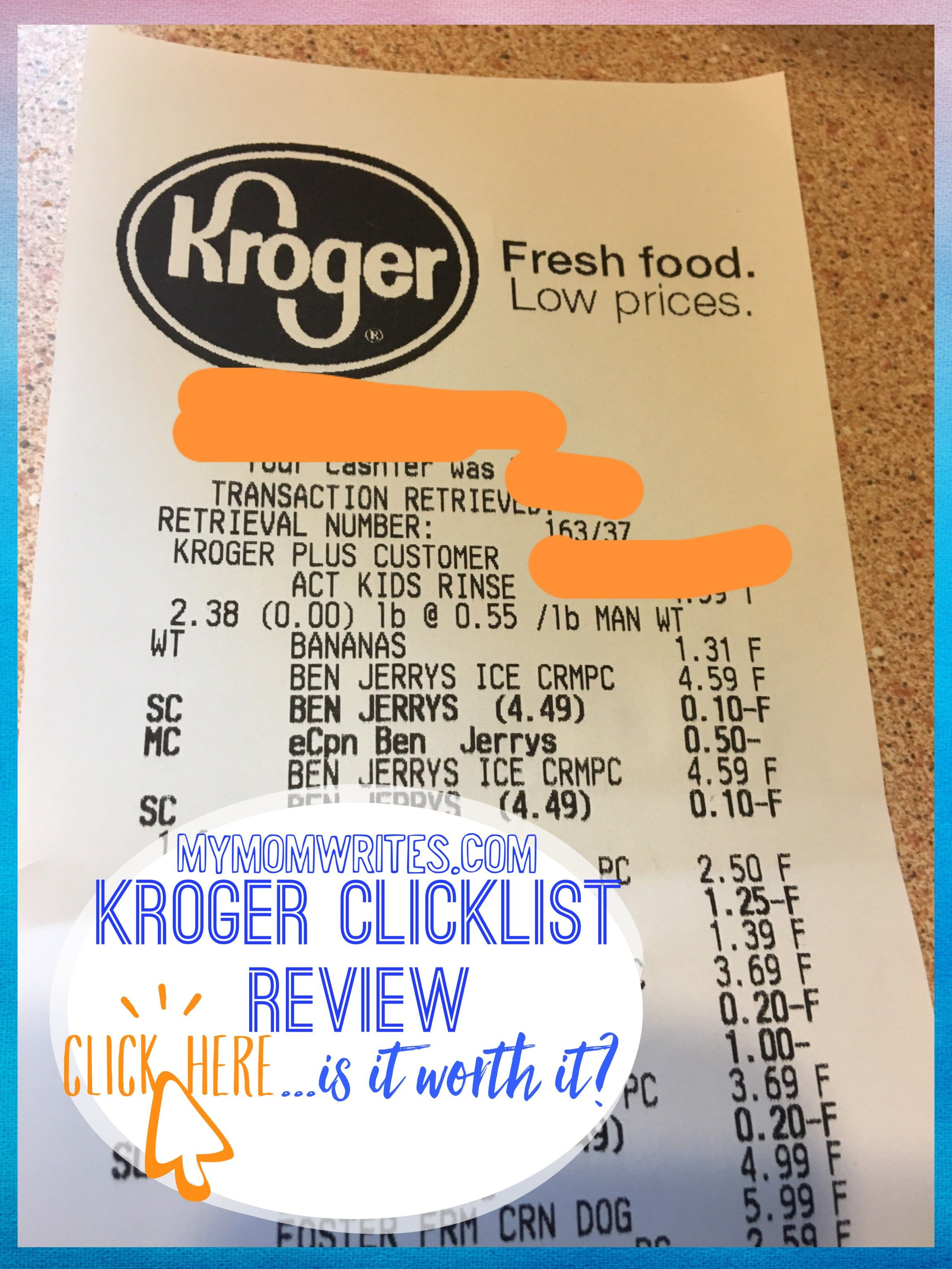 Why I Love Grocery Shopping Online w/Kroger ClickList + Free
